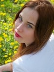 Photo of beautiful  woman Valeria with red hair and blue eyes - 21782