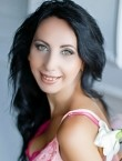 Photo of beautiful  woman Veronica with black hair and green eyes - 20626