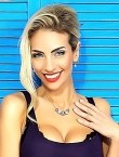 Photo of beautiful  woman Victoria with blonde hair and green eyes - 22500