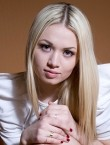 Photo of beautiful  woman Victoria with blonde hair and green eyes - 28058