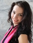 Photo of beautiful  woman Viktoria with black hair and grey eyes - 21888