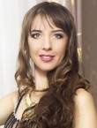 Photo of beautiful  woman Viktoria with brown hair and blue eyes - 28275