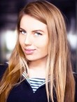Photo of beautiful  woman Violet with light-brown hair and blue eyes - 21424