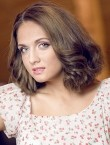 Photo of beautiful  woman Yana with light-brown hair and green eyes - 20566