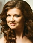 Photo of beautiful  woman Yana with brown hair and grey eyes - 21263