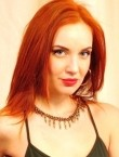 Photo of beautiful  woman Yana with red hair and grey eyes - 21732